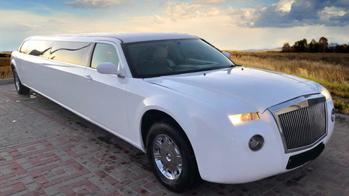 Photo Rolls-Royce limousine blanche