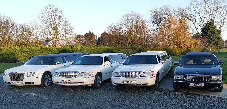 bg-quatre-limousines-cote-a-cote