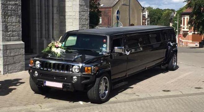 Hummer Limousine Noir